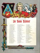 Verso de Rode Ridder (De) -108- De overlevenden