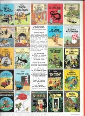 Verso de Tintin (Historique) -6C3bis- L'oreille cassée