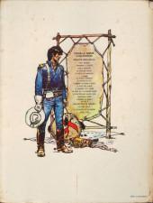 Verso de Blueberry -16a79- Le hors la loi
