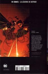 Verso de DC Comics - La légende de Batman -839- Red hood : 2e partie