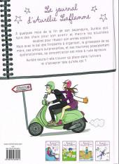 Verso de Le journal d'Aurélie Laflamme -5- Les pieds sur Terre