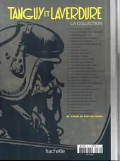 Verso de Tanguy et Laverdure - La Collection (Hachette) -30- L'avion qui tuait ses pilotes
