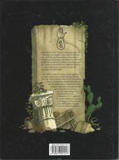Verso de Les voyages d'Alexandre Icare -1- Les fils de l'Alhambra