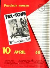 Verso de Tex-Tone -262- Les acharnés