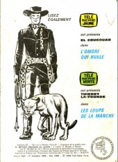 Verso de Télé série bleue (Les hommes volants, Destination Danger, etc.) -31- Djinga jungle - Les gnomes des falaises
