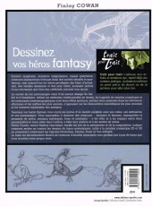Verso de (DOC) Techniques de dessin et de création de BD - Dessinez vos héros de fantasy, inventez leur univers