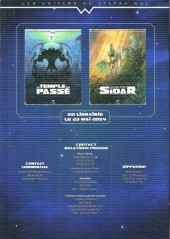 Verso de Les univers de Stefan Wul -DP- Les univers de stefan wul - dossier de presse