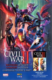 Verso de Avengers Universe (2e série - 2017) -1- Baptême du feu