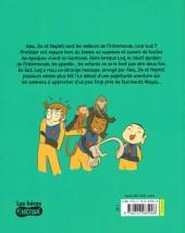 Verso de Les aventuriers de l'intermonde -4- Le Disque de jade