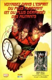 Verso de X-Men Resurrxion  -2- Retour à l'essentiel