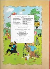Verso de Tintin (Historique) -20B36- Tintin au Tibet