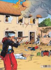 Verso de La légion -1- Camerone (histoire legion 1831 - 1918)