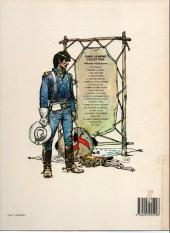 Verso de Blueberry -11c1986- La mine de l'Allemand perdu