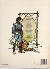 Verso de Blueberry -12b1985- Le spectre aux balles d'or