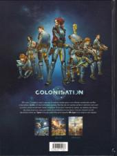 Verso de Colonisation -1- Les naufragés de l'espace