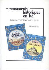 Verso de Monuments historiques en BD -4- La Tour Eiffel