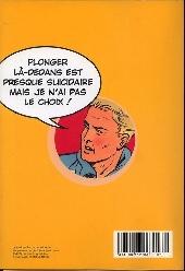 Verso de (AUT) Martin, Jacques -MBD10- Alix & Lefranc - Le Monde de la BD - 10