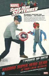 Verso de The amazing Spider-Man Vol.3 (Marvel comics - 2014) -1.5- Learning to crawl: pat five