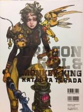 Verso de (AUT) Terada, Katsuya - Dragon Girl & Monkey King