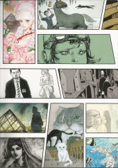 Verso de Les réveurs du Louvre -1- Louvre n.9 - Manga the 9th art Book 1