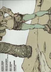 Verso de Les réveurs du Louvre -2- Louvre n.9 - Manga the 9th art Book 2