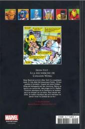 Verso de Marvel Comics - La collection (Hachette) -100XXXIII- Iron Fist - À la recherche de Colleen Wing
