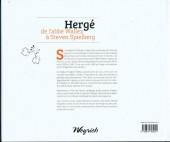 Verso de (AUT) Hergé - Hergé de l'abbé Wallez à Steven Spielberg