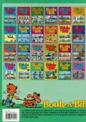 Verso de Boule et Bill -02- (Édition actuelle) -21a- Boule & Bill 21
