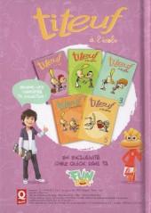 Verso de Titeuf (Publicitaire) -Quick1- Titeuf à l'école