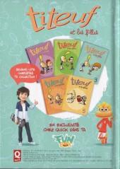 Verso de Titeuf (Publicitaire) -Quick3- Titeuf et les filles