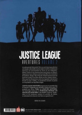 Verso de Justice League Aventures -2- Volume 2