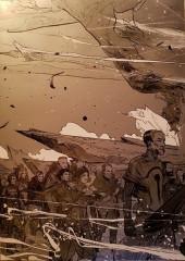Verso de La horde du Contrevent -1TT- Le cosmos est mon campement