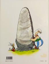 Verso de Astérix (Hachette) -2- La serpe d'or