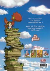 Verso de Tib et Tatoum -4- Jamais sans mon dino !