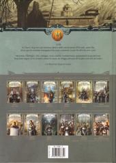 Verso de Les maîtres Inquisiteurs -8- Synillia