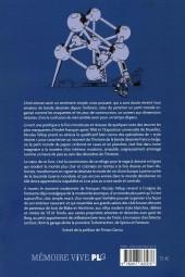 Verso de (AUT) Franquin - L'anti-atome, Franquin à l'épreuve de la vie