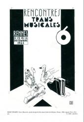 Verso de (Catalogues) Ventes aux enchères - Galerie Laqua - Galerie Laqua - François Avril