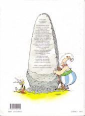 Verso de Astérix (Hachette) -14- Astérix en Hispanie