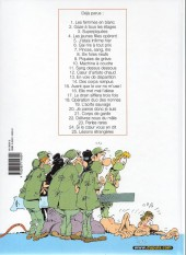 Verso de Les femmes en Blanc -5b2004- J'étais infirme hier