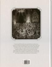 Verso de La cour des Miracles -1- Anacréon, Roi des Gueux