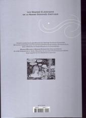 Verso de Les grands Classiques de la Bande Dessinée érotique - La Collection -4558- Paulette - Tome 2