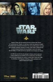 Verso de Star Wars - Légendes - La Collection (Hachette) -5738- Dark Times - III. Blue Harvest