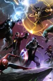 Verso de Marvel Events -2017- Marvel Events Les Sagas Cosmiques