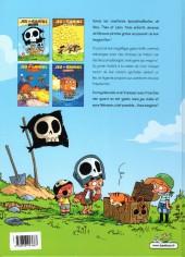 Verso de Jeu de gamins -1a- Les pirates