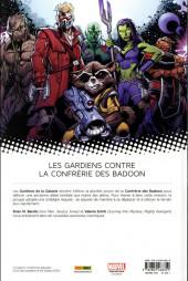 Verso de All-New Les Gardiens de la galaxie (Marvel Now!) -2- Recherchés