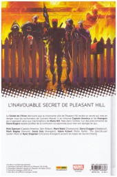Verso de Avengers - L'Affrontement -1- Bienvenue à Pleasant Hill