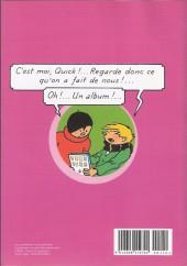 Verso de Quick et Flupke -2- (Casterman, N&B) -MBD11- Quick & Flupke - Le Monde de la BD - 11