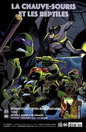 Verso de Batman Rebirth (DC Presse) -8- Tome 8