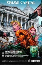 Verso de Justice League Rebirth (DC Presse) -8- Tome 8