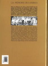 Verso de La mémoire des arbres -1a00- La hache et le fusil - tome 1